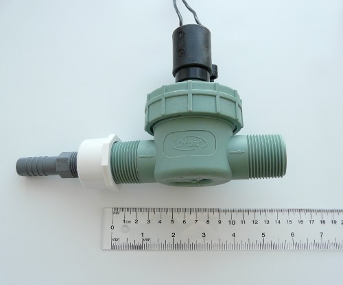 Orbit sprinkler valve