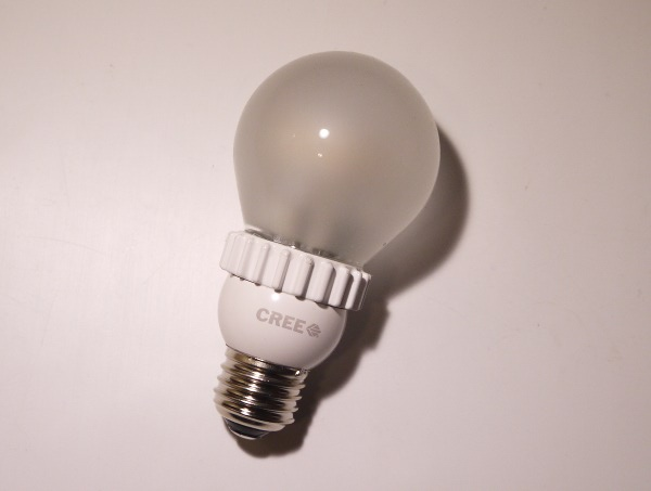 cree led light bulb it was on sale and the quality ofthe light. Black Bedroom Furniture Sets. Home Design Ideas