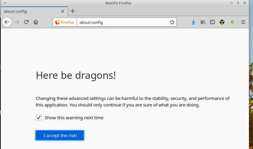 Tuning Firefox Quantum
