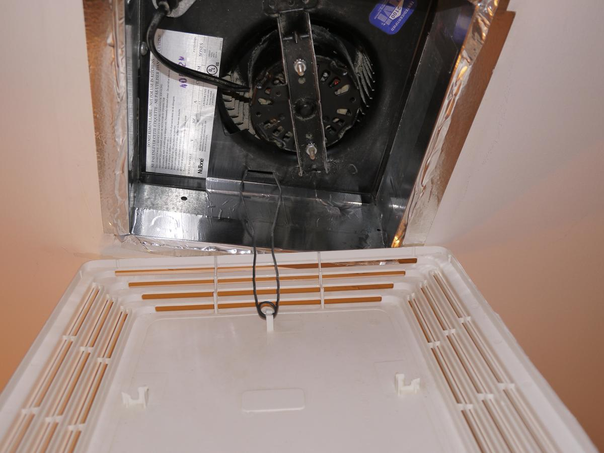 How To Open And Clean A Nutone Bathroom Fan
