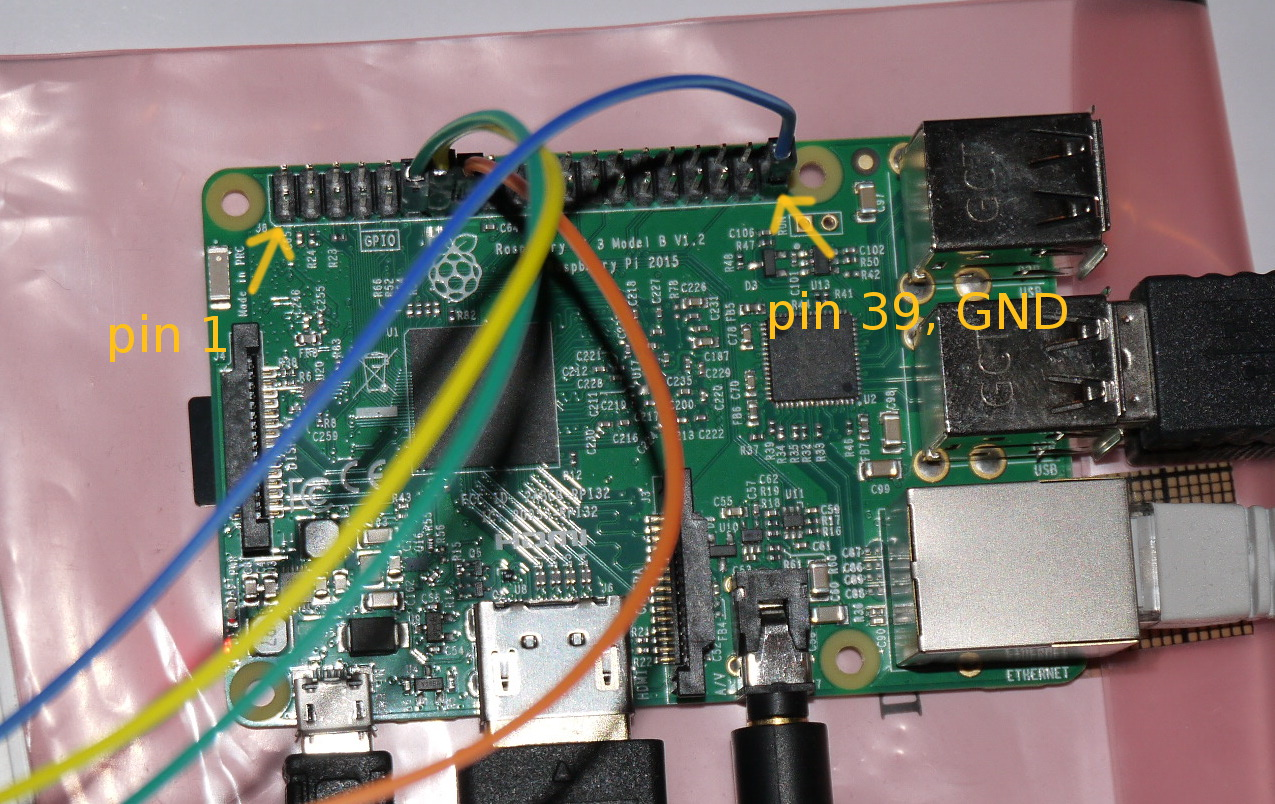 Raspberry PI, beginner GPIO tutorial, a traffic light